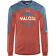 Maloja CurdinM. - Maillot manches longues Homme - rouge/bleu